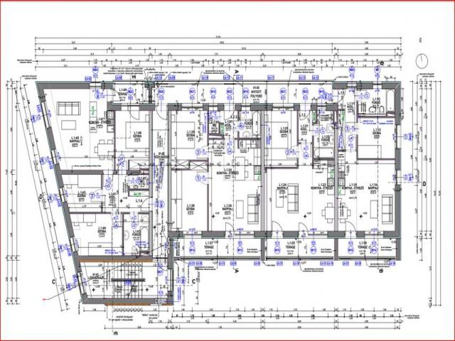 Veszprém belvárosában, 9 lakásos, új építésű társasházban, 1. emelet… 2