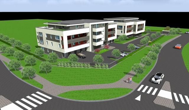 Veszprémben, a Fenyő-Liget lakópark II. üteme