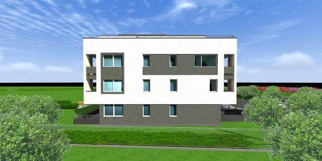 Veszprémben, a Fenyő-Liget lakópark I. üteme két épületben 19 db és ? 9
