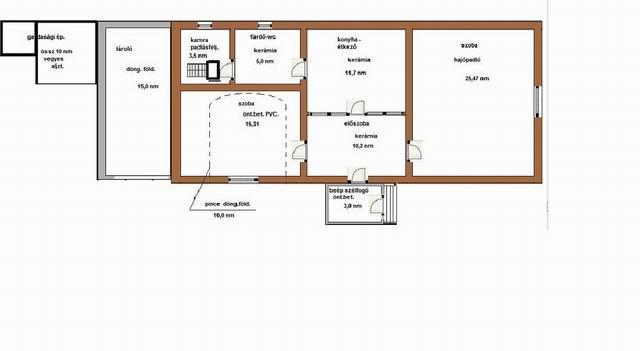 Nagyvázsonyban, 431 m2 telken, 65 m2 alapterületű, földszintes, 2 sz… 10