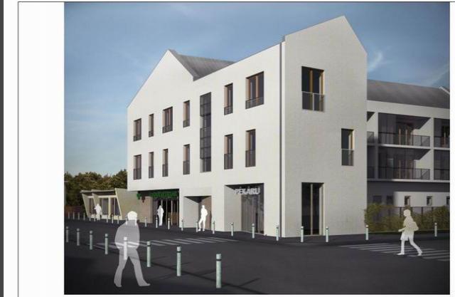 Veszprém belvárosában, 9 lakásos, új építésű társasházban, 2. emelet… 1