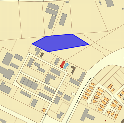 Veszprémben, ipari területen, 11311 m2-es, közművek nélküli, beépíte… 1